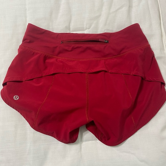 """lululemon athletica Pants - Speed Up Short Long - 4"""" Inseam - Size 2 Tall"""